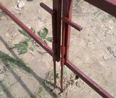 Запоры на дачные ворота