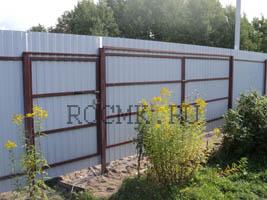 Построить забор с автоматическими воротами