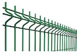 Забор из сетки для дачи