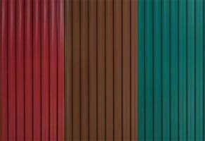 Основные цвета профнастила ипользуемоно при установке заборов
