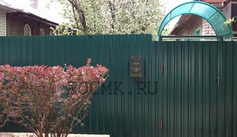 Забор из профлиста в СПБ