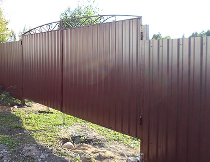 Ворота для дачи